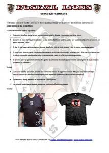Concurso camiseta
