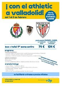 Valladolid - Athletic (Ots. 1) hotel