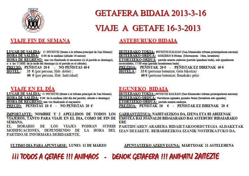 getafe athletic