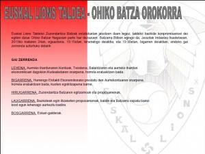 Batzar Orok. 2013 EL