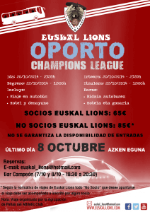 Champions oporto