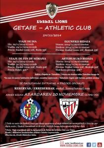 Getafe - Athletic 14/15