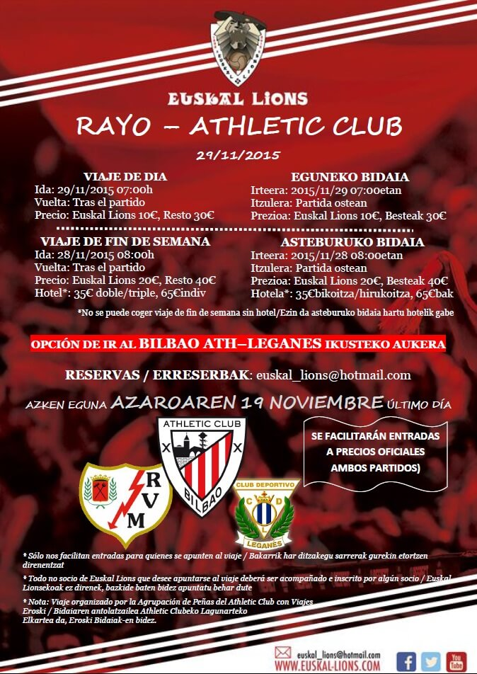 Rayo Athletic 15-16