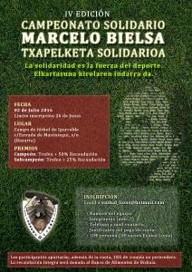 IV Torneo Solidario Marcelo Bielsa